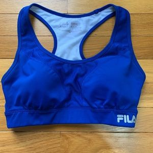 Fila Sport High Impact Royal Blue Running Bra